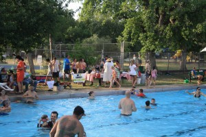 RNA pool party: Fun, food, music, friends.