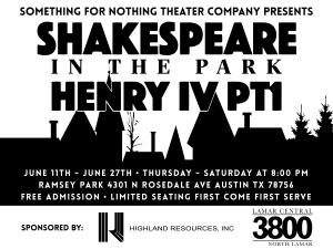 Shakespeare in the Park Social Media